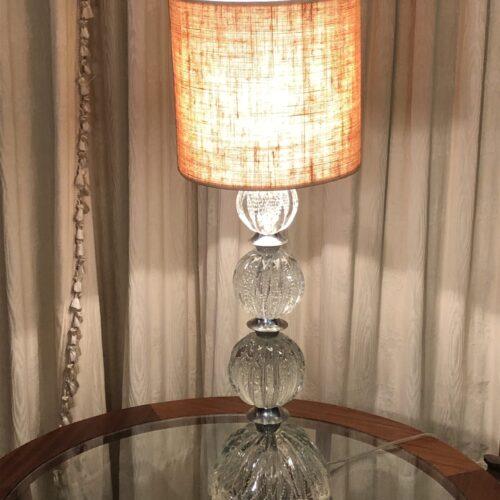 Lampada da tavolo modello Seguso