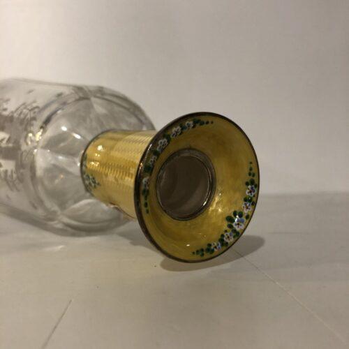 Bottiglia Molata con collo in Smalto