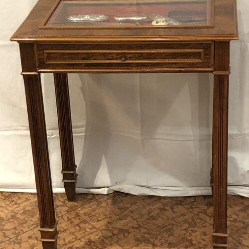 Tavolino Vetrina da Esposizione