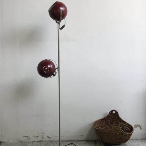 Lampada a piantana Sfere Bordeux