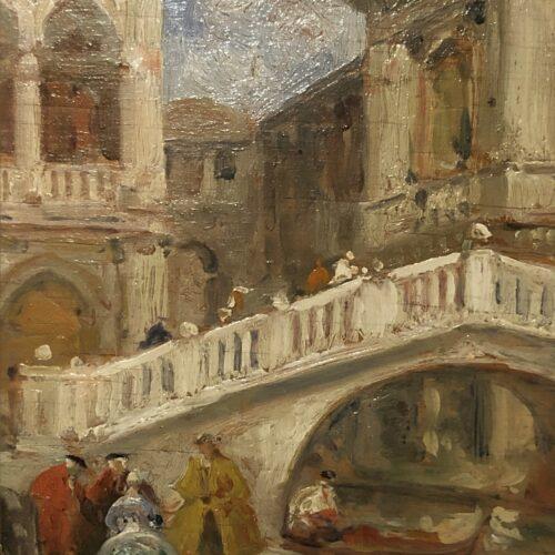 Ettore Solvegni- Ponte Paglia Venezia