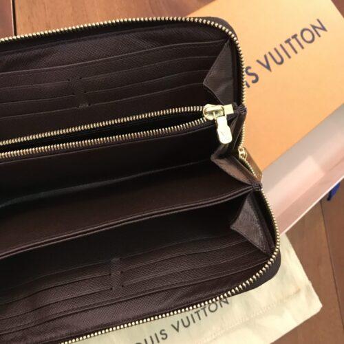 Louis Vuitton Portafoglio Zippy Damier