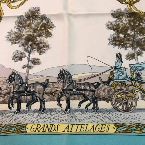 Hermes Foulard Grands Attelages