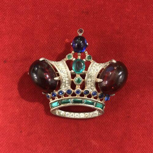 Trifary Spilla a Corona in Argento