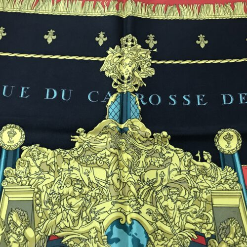 Hermes Foulard Vue du Carosse de la Galere la Reale