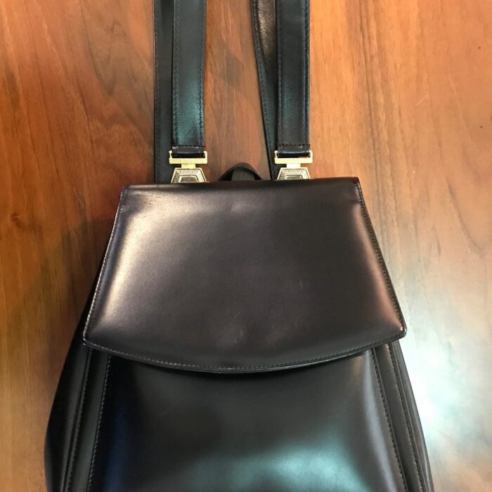 Gianni Versace zaino in pelle