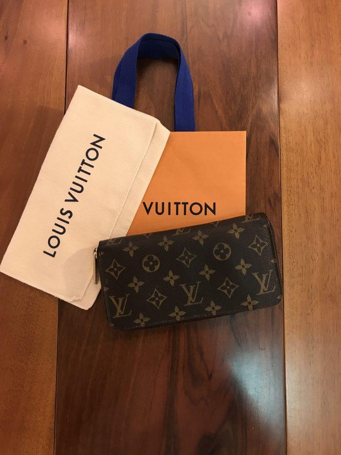 Louis Vuitton Portafoglio modello Zippy Monogram