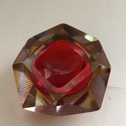 Posacenere in vetro di Murano