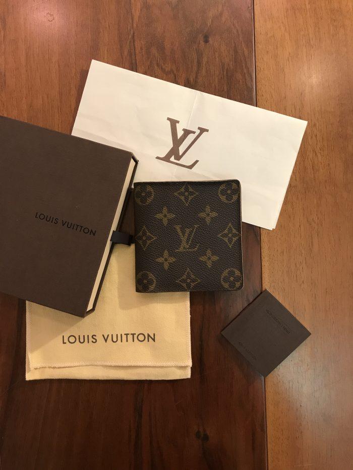 Louis Vuitton Portafoglio da Uomo Monogram