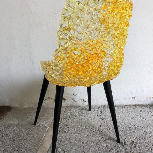 """Sedia Modello """"Gina"""", Designer Jacopo Foggini, Produzione Edra 2014"""