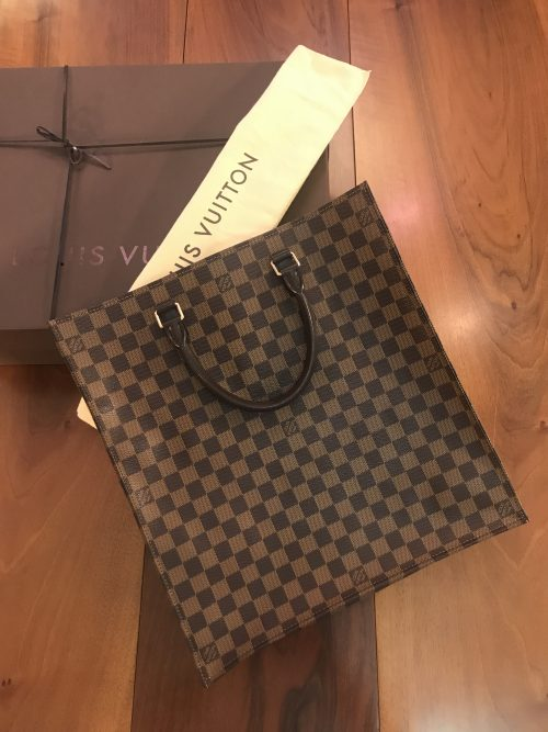 Louis Vuitton modello Sac Plat Damier Ebene