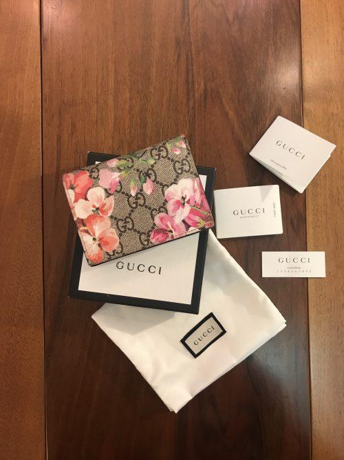 Gucci Portafoglio compatto Edizione Limitata Blooms