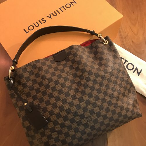 Louis Vuitton modello Graceful MM Damier Ebene
