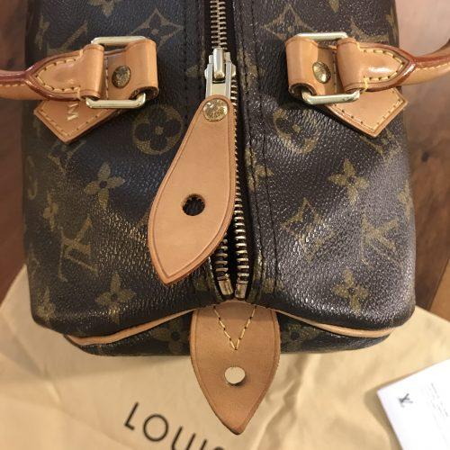Louis Vuitton modello Speedy 30 con iniziali MM