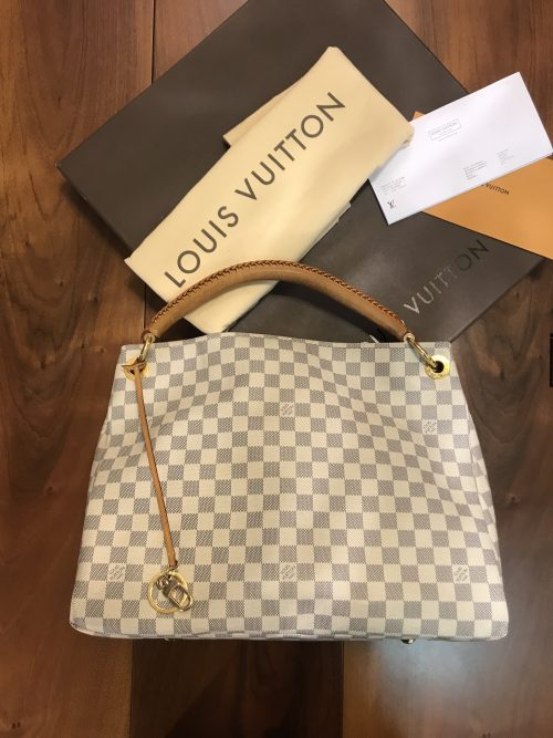 Louis Vuitton modello Artsy MM fantasia Azur